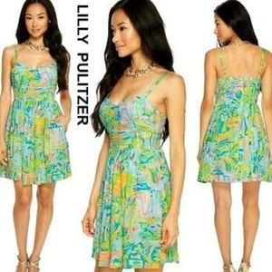 Lilly Pulitzer Christine Sundress- Sea Salt Sun